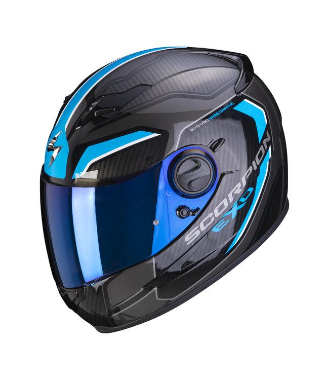 Scorpion EXO-490 SUPERNOVA BLACK BLUE