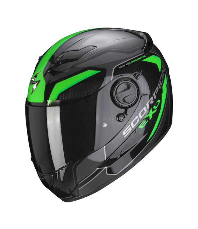 Scorpion EXO-490 SUPERNOVA BLACK GREEN