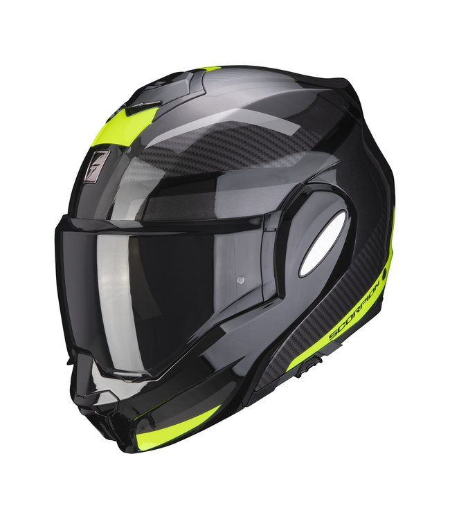 Scorpion EXO-TECH TRAP BLACK NEON YELLOW