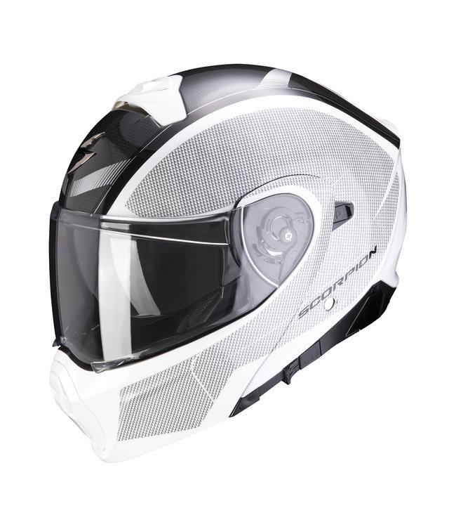 Scorpion EXO-930 CIELO PEARL WHITE-BLACK