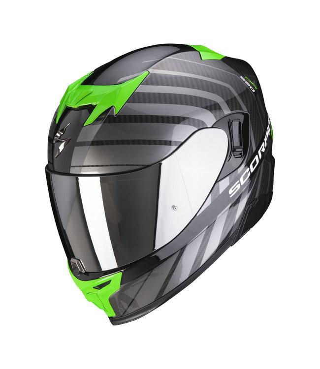 Scorpion EXO-520 AIR SHADE BLACK-GREEN