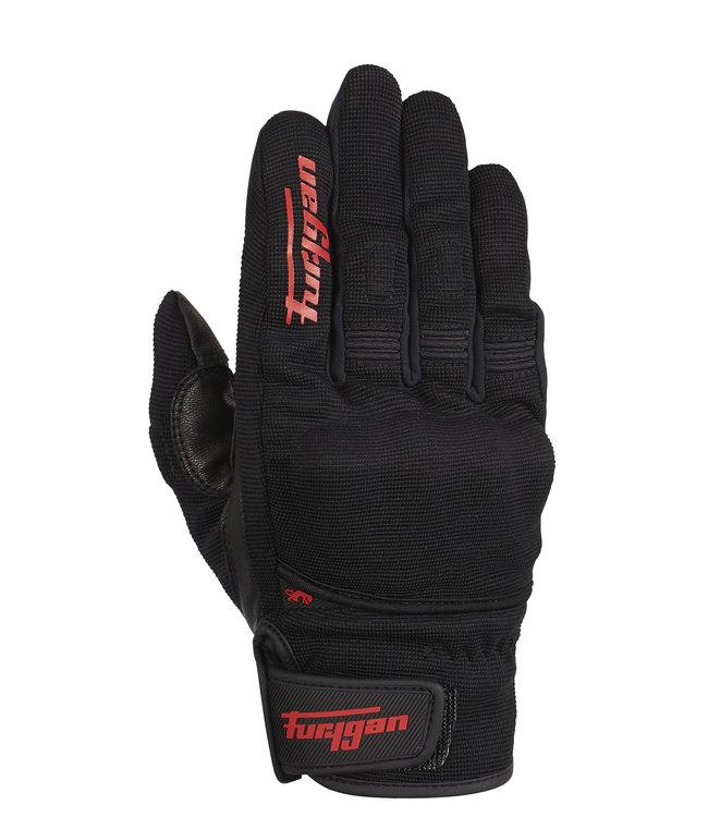 Furygan Jet D3O Gloves Black Red