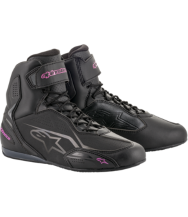 Alpinestars STELLA FASTER-3 SHOES BLACK FUCHSIA