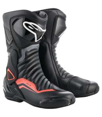 Alpinestars SMX-6 V2 BLACK GRAY RED FLUO