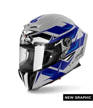 AIROH GP 550 S WANDER BLUE GLOSS