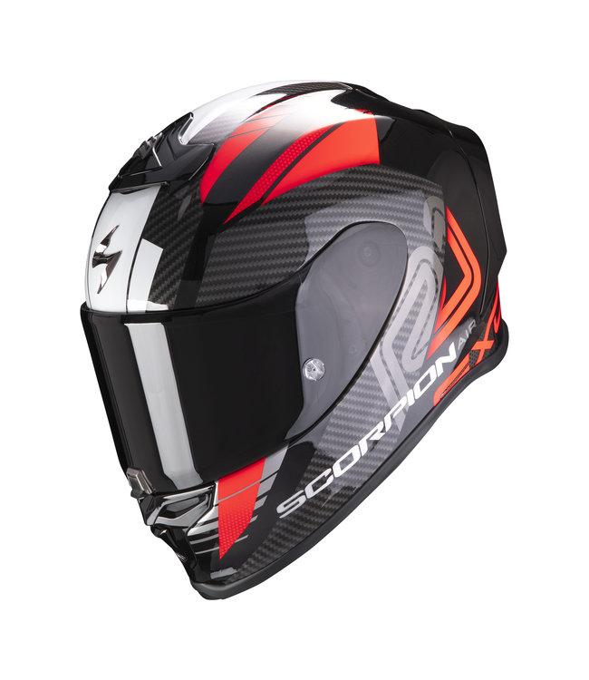 Scorpion EXO-R1 AIR HALLEY BLACK METAL RED