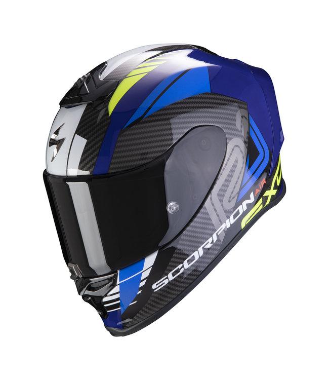 Scorpion EXO-R1 AIR HALLEY BLUE NEON YELLOW