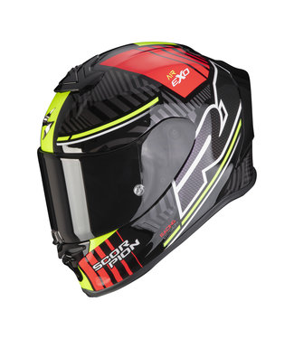 Scorpion EXO-R1 AIR VICTORY BLACK SILVER RED