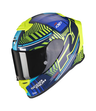 Scorpion EXO-R1 AIR VICTORY BLUE NEON YELLOW