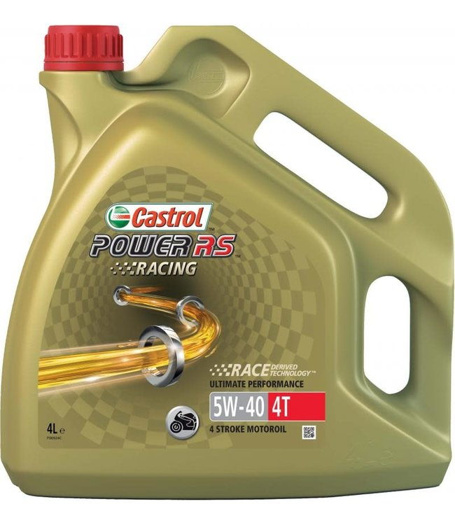 CASTROL POWER RS RACING 4T 5W-40 4LTR