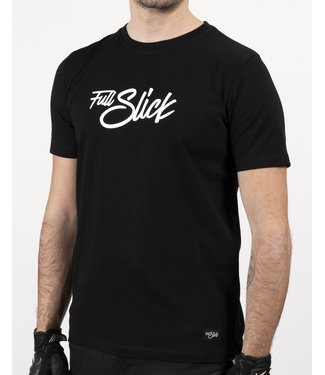 Full Slick Apparel BLACK FULL SLICK SIGNATURE T-SHIRT