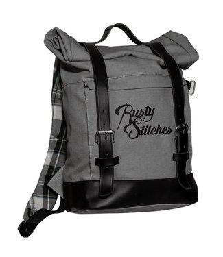 Rusty Stitches Bag Archer Grey-Black