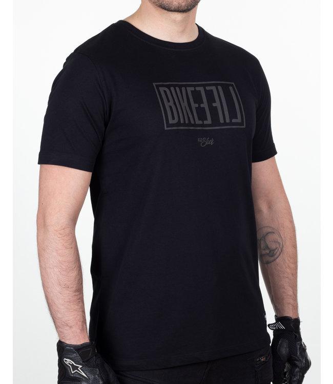 FULL SLICK APPAREL Black on Black Bikelife T-shirt