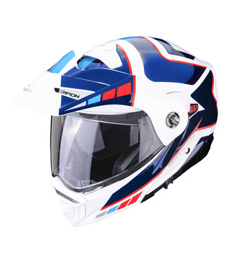 Scorpion ADX-2 CAMINO PEARLE WHITE BLUE RED