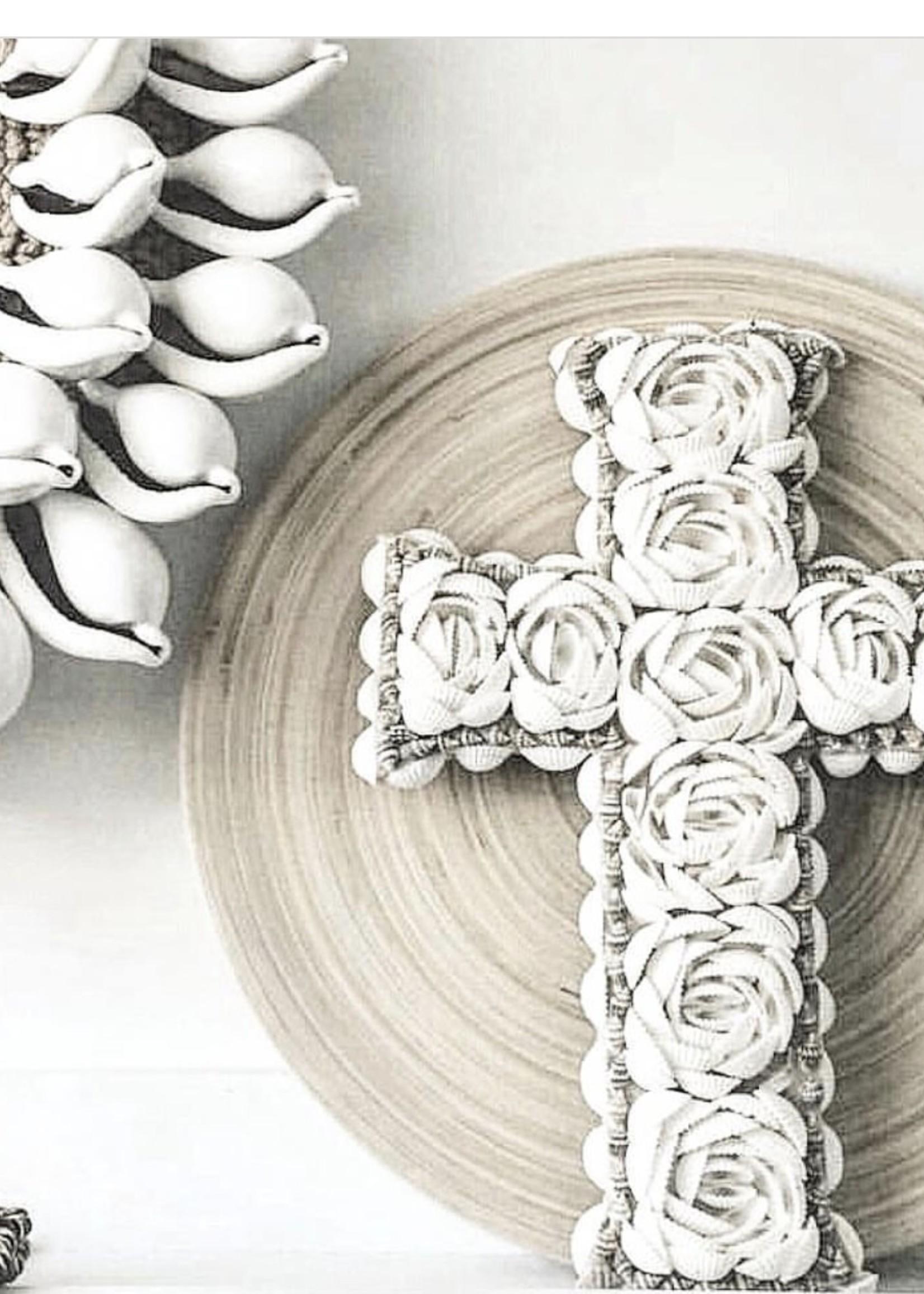 The Shell Cross - White - L