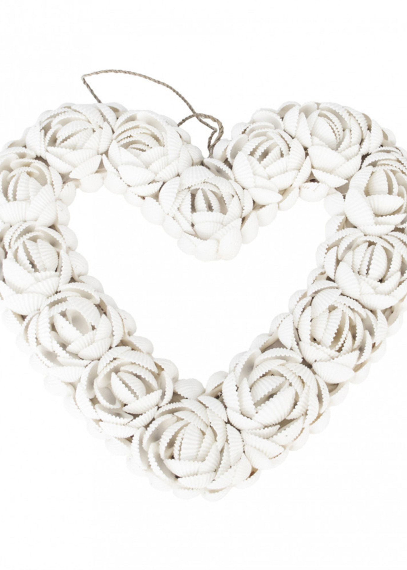 The Shell Heart - White - L