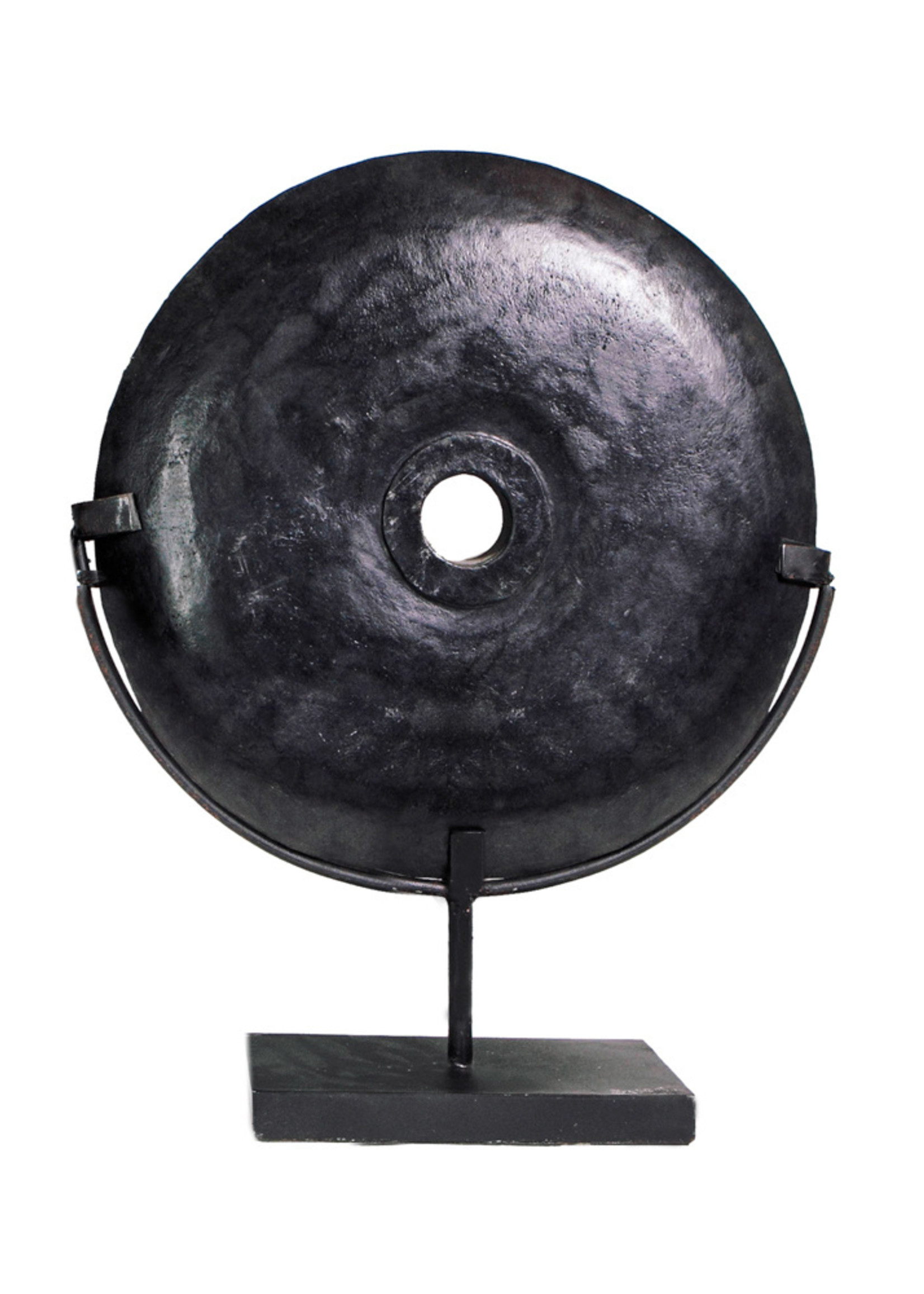 The Black River Stone on Stand - L