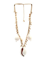The Big White Cowrie Shell Necklace
