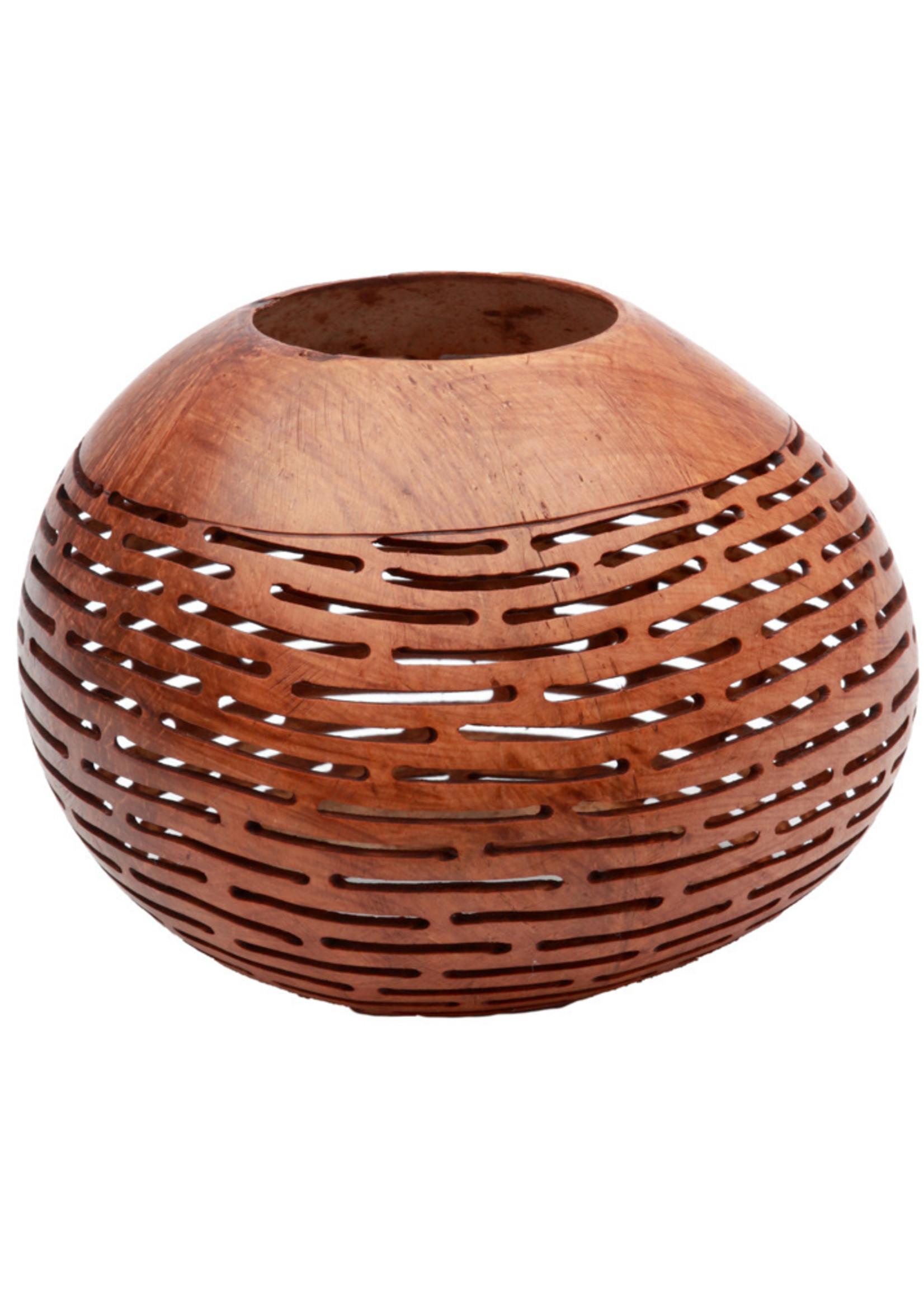 The Coconut Stripe - Brown