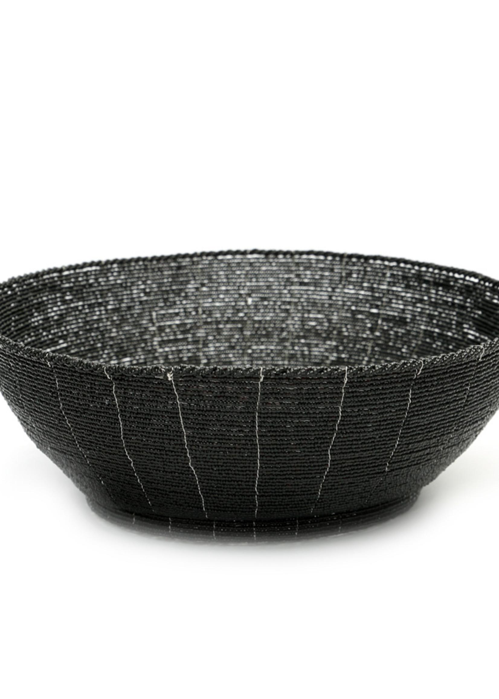 The Beaded Fruit Platter - Black