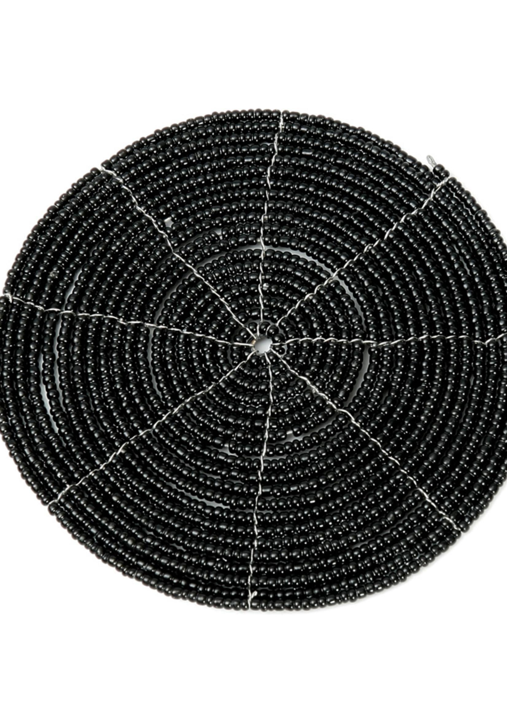 The Beaded Coaster - Black