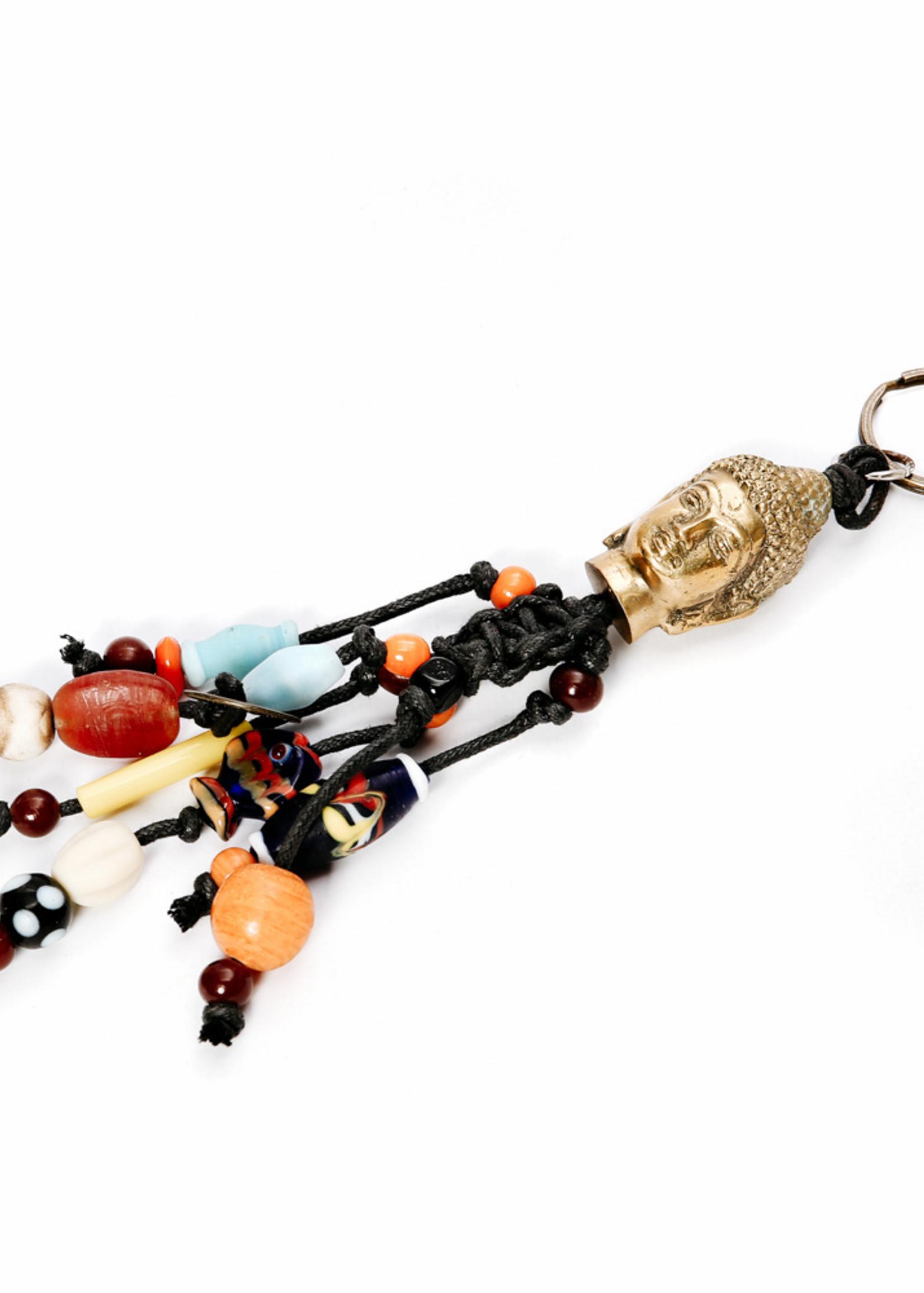 The Boho Buddha Keychain - Black
