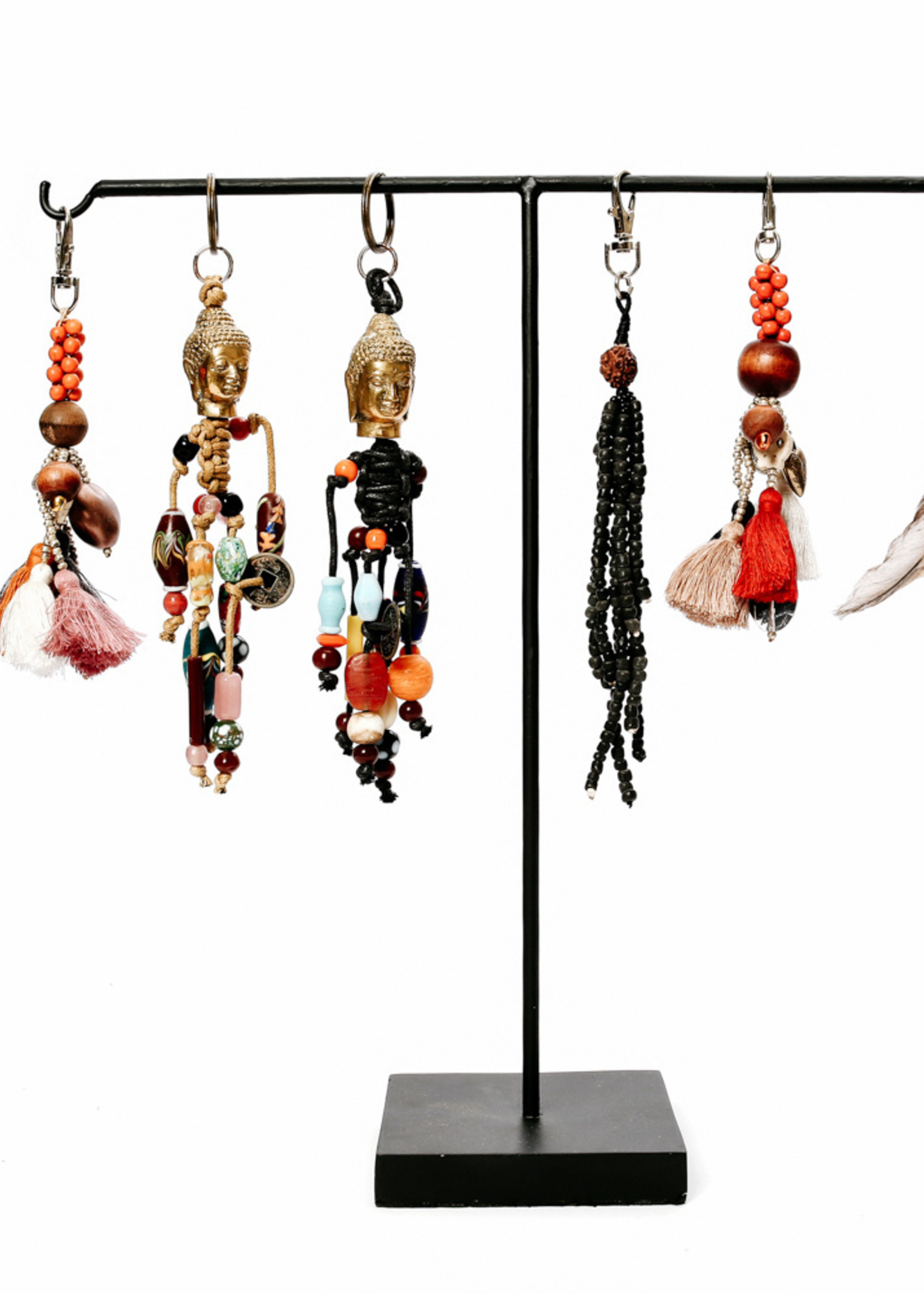 The Fun Tassels Keychain - Mixed Colors