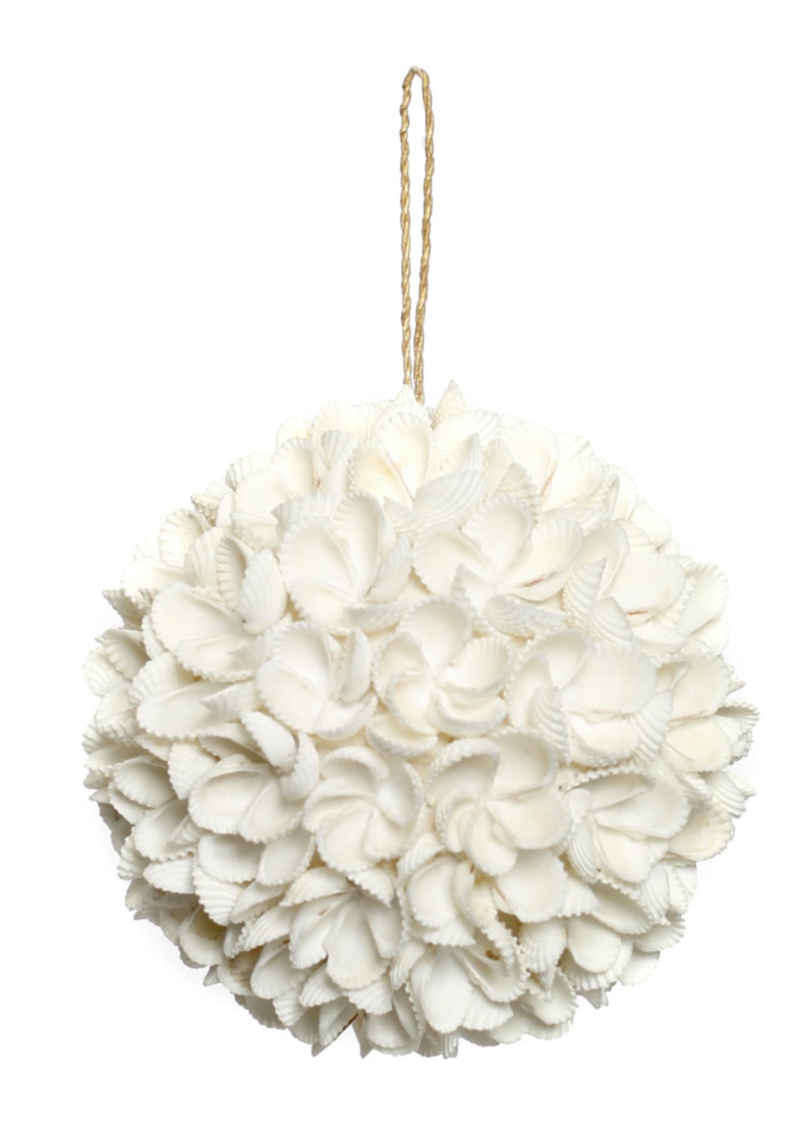 The Flower Shell Ball - White - L