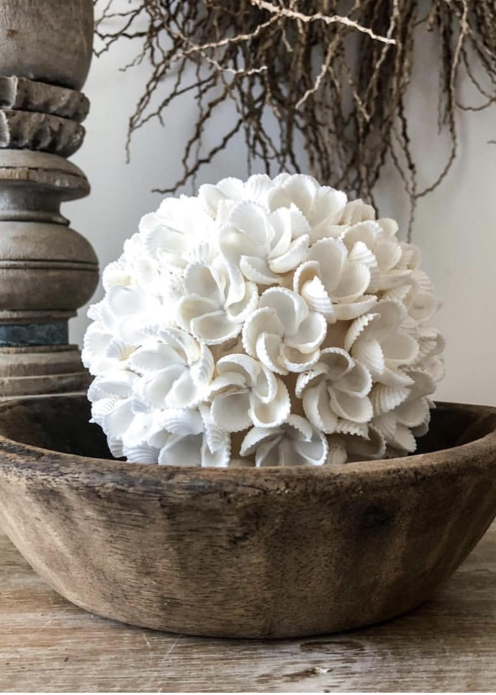 The Flower Shell Ball - White - M