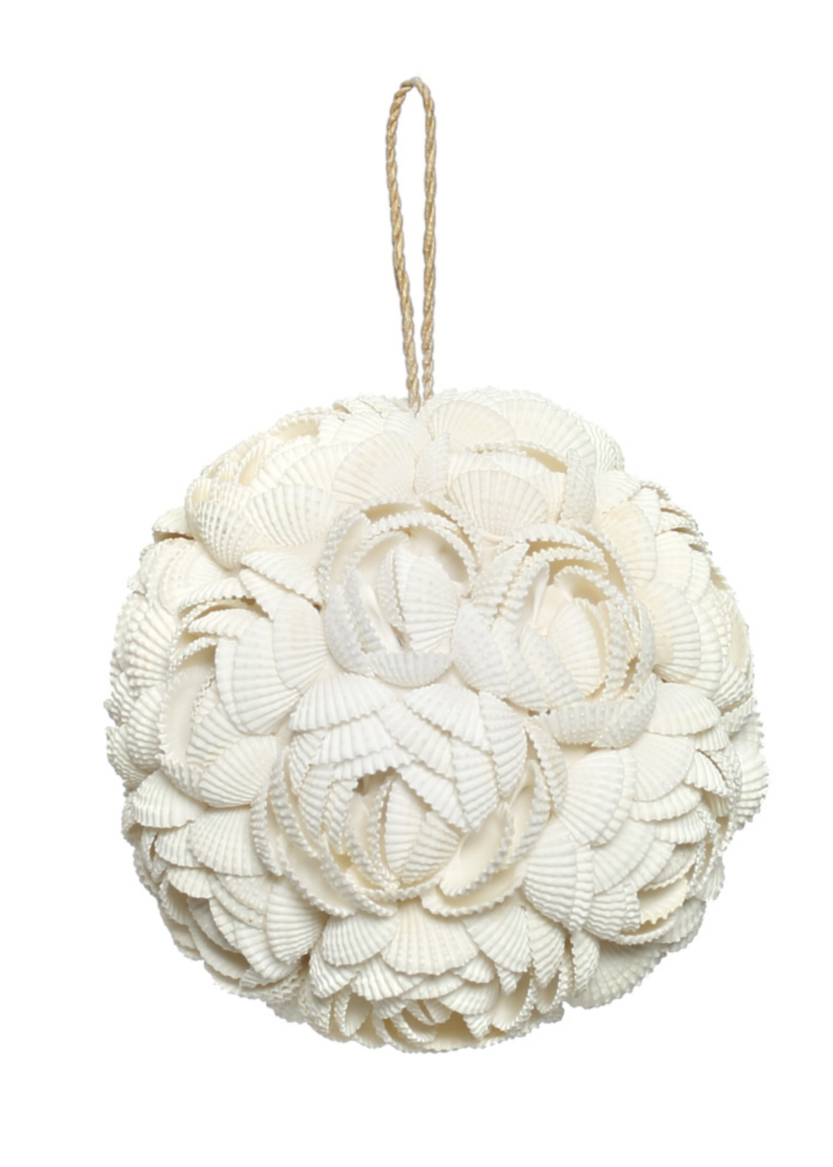 The Rose Shell Ball - White - L