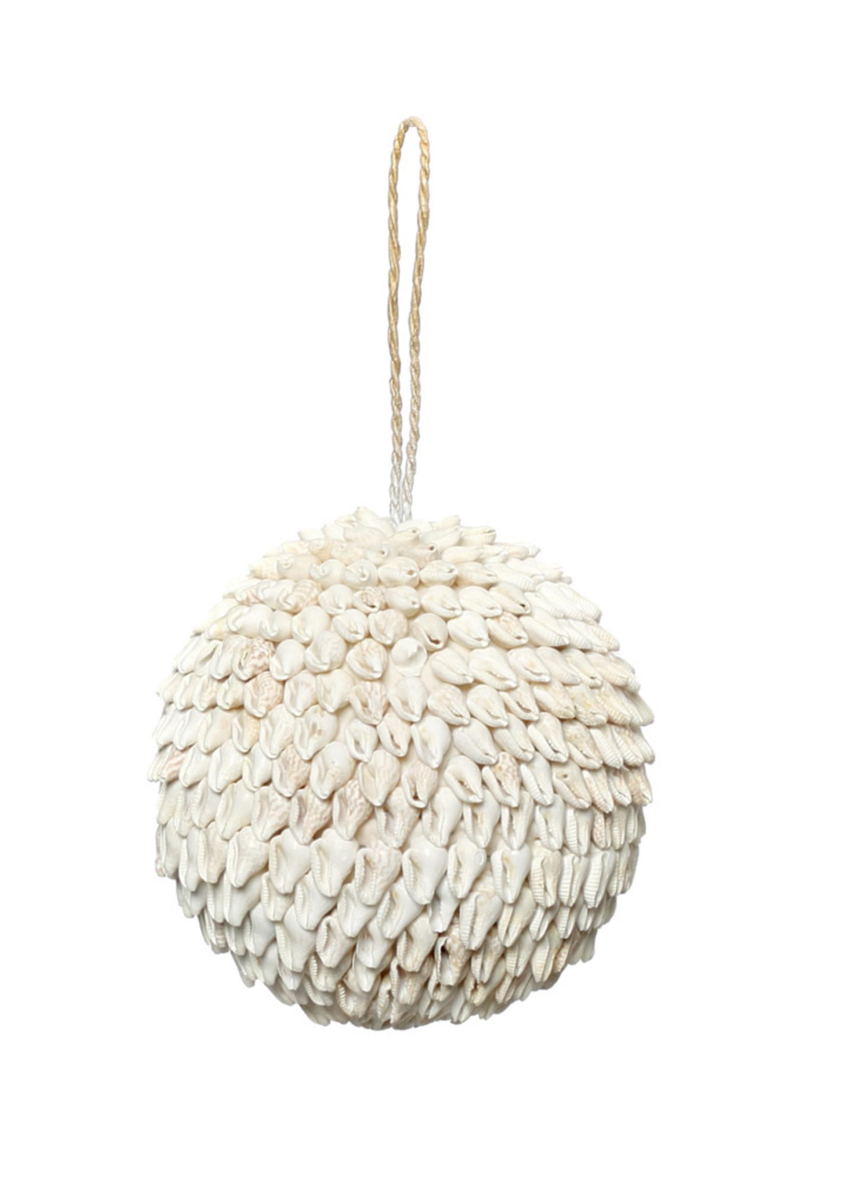 The Bubble Shell Ball - White - M
