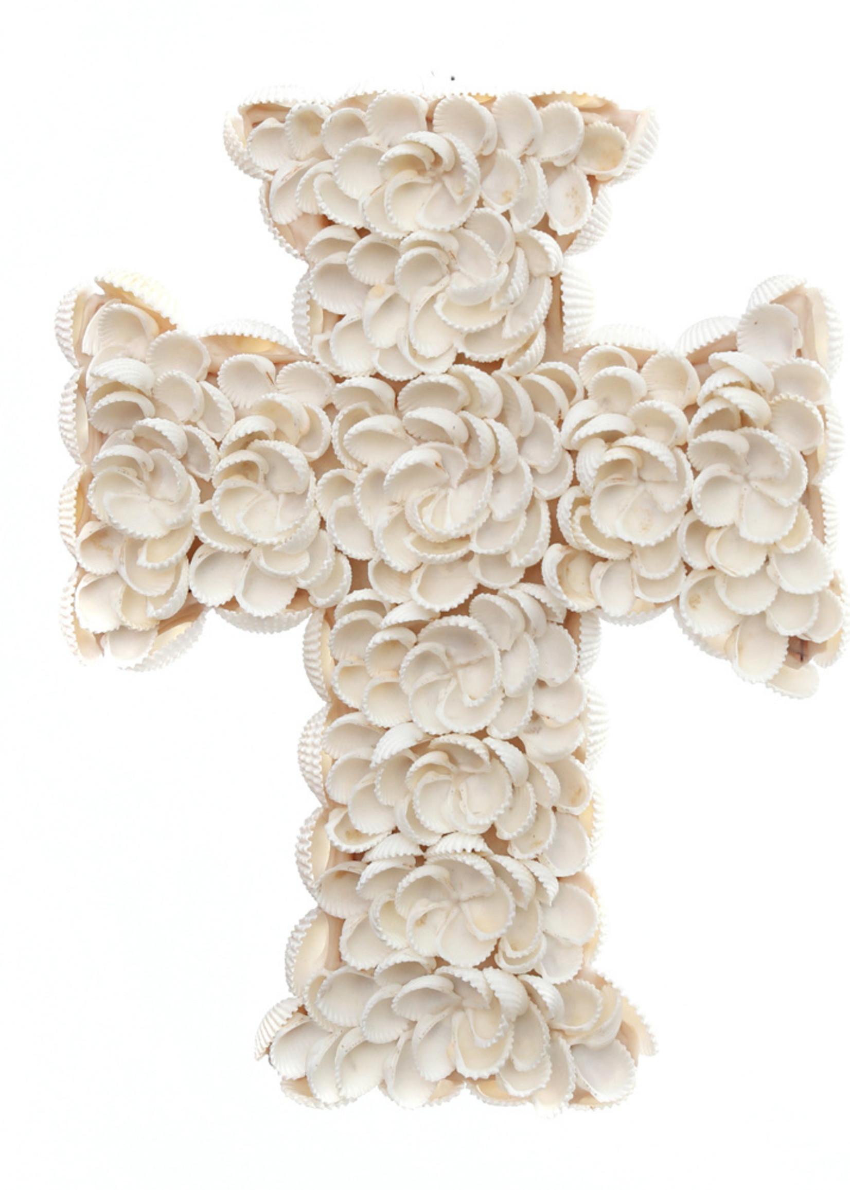 The Shell Cross - White - S