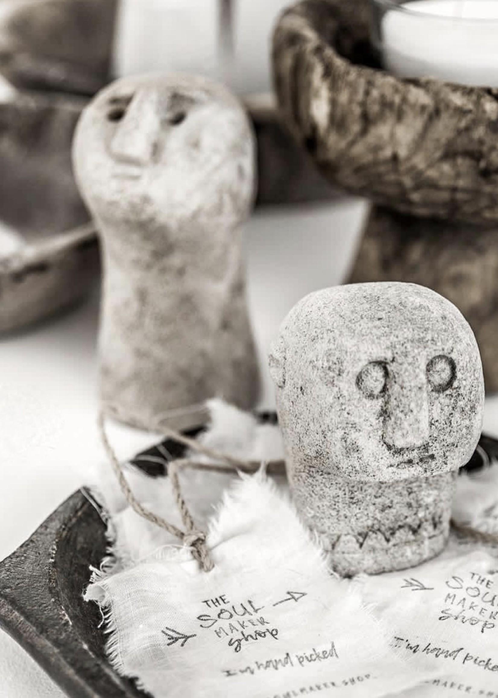 Sumba Stone Statue #08 - Natural