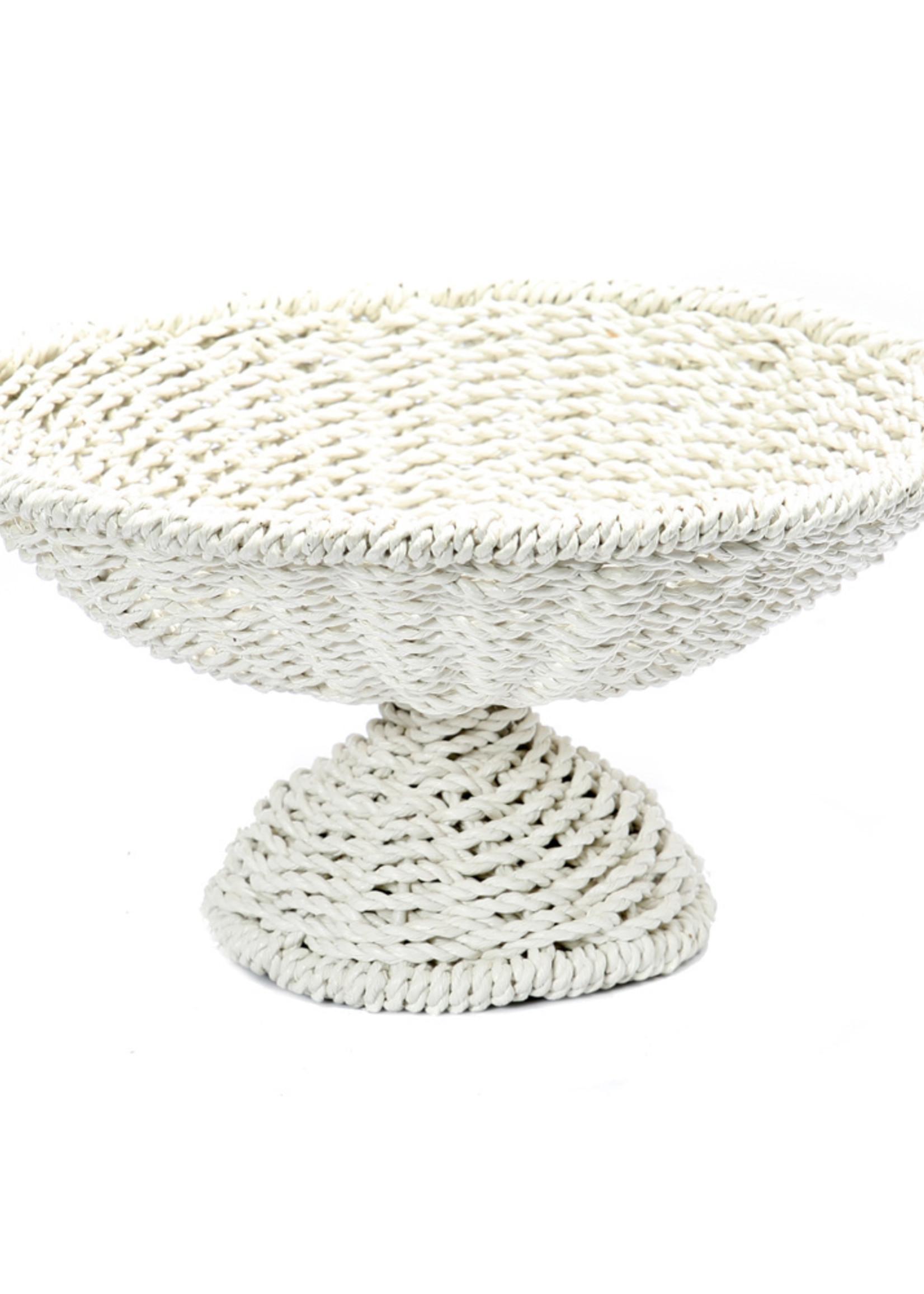 The Seagrass Fruit Platter - White
