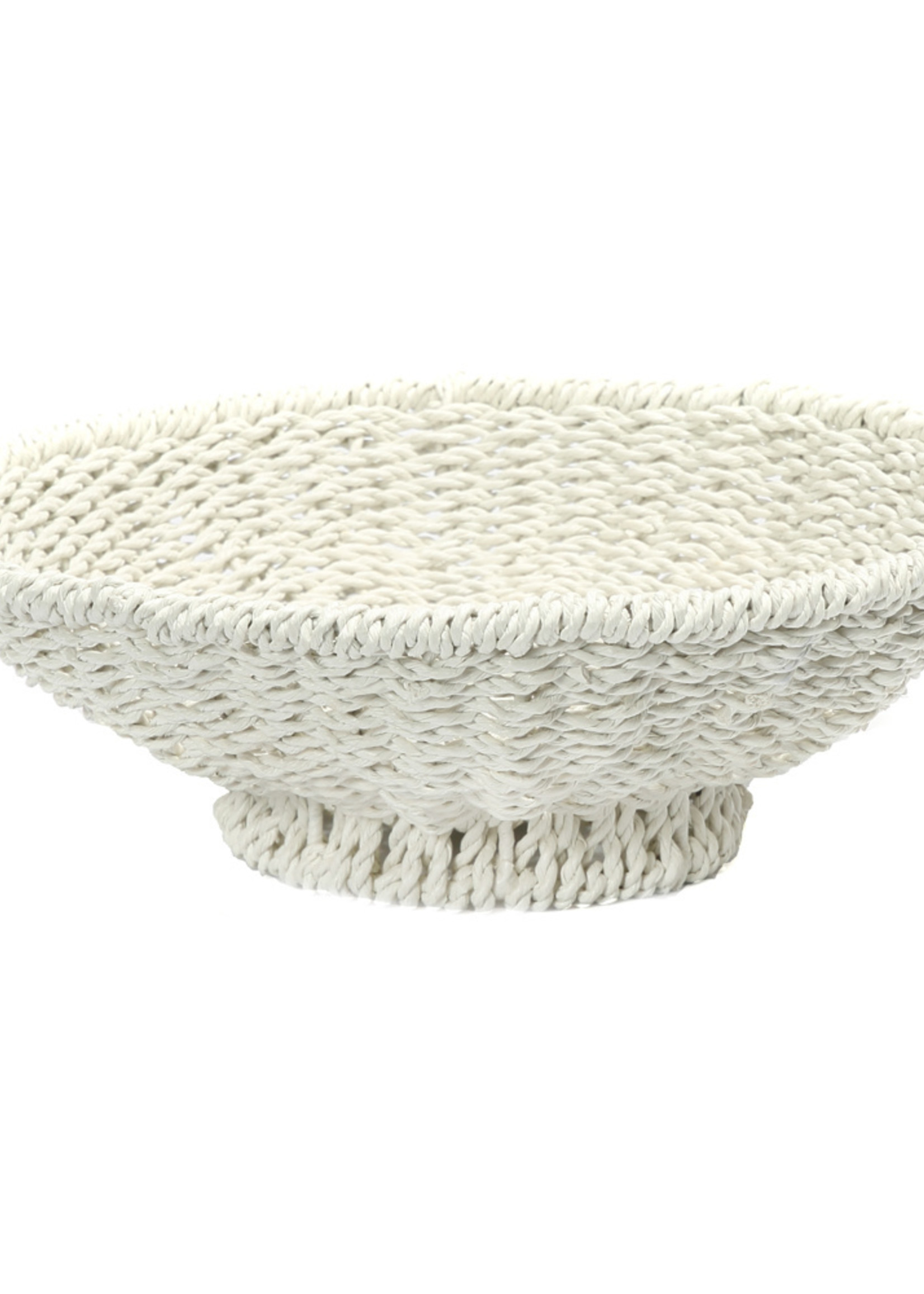 The Porto Seagrass Bowl - White