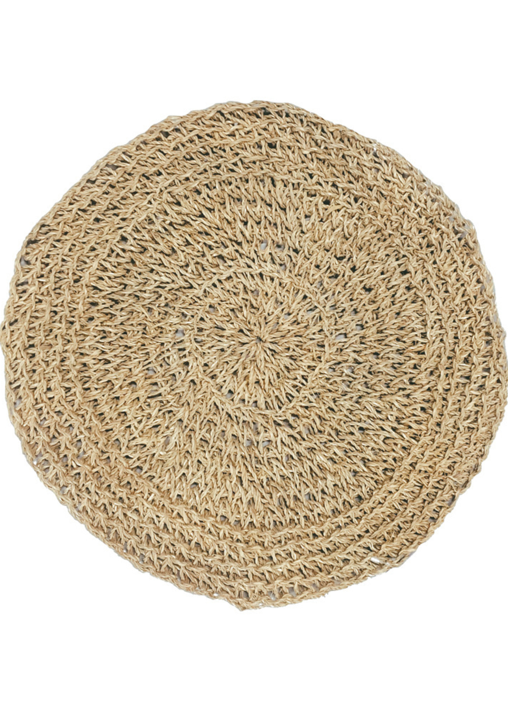 The Seagrass Placemat Round - Natural