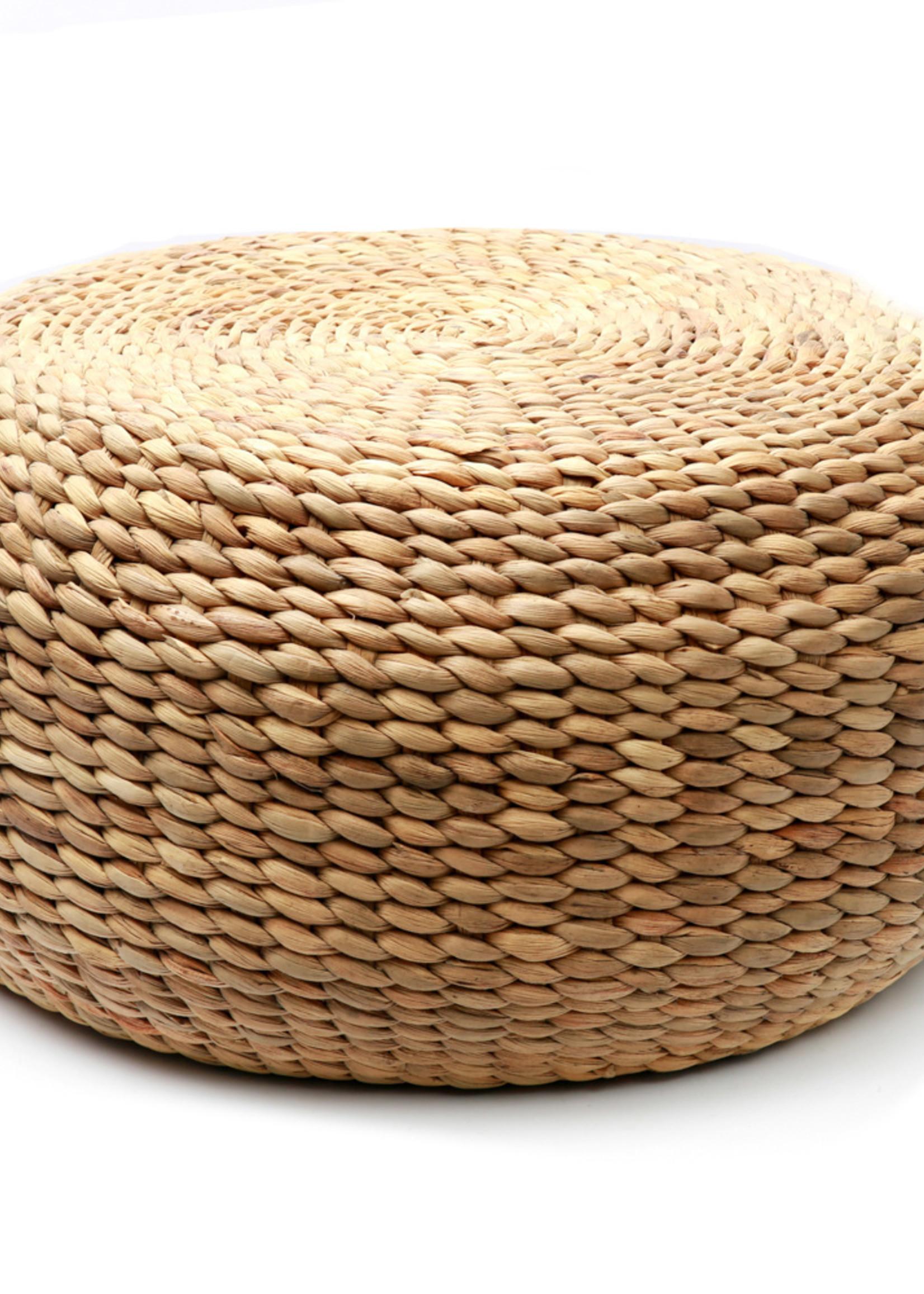 The Hyacinth Pouffe - Round - 80