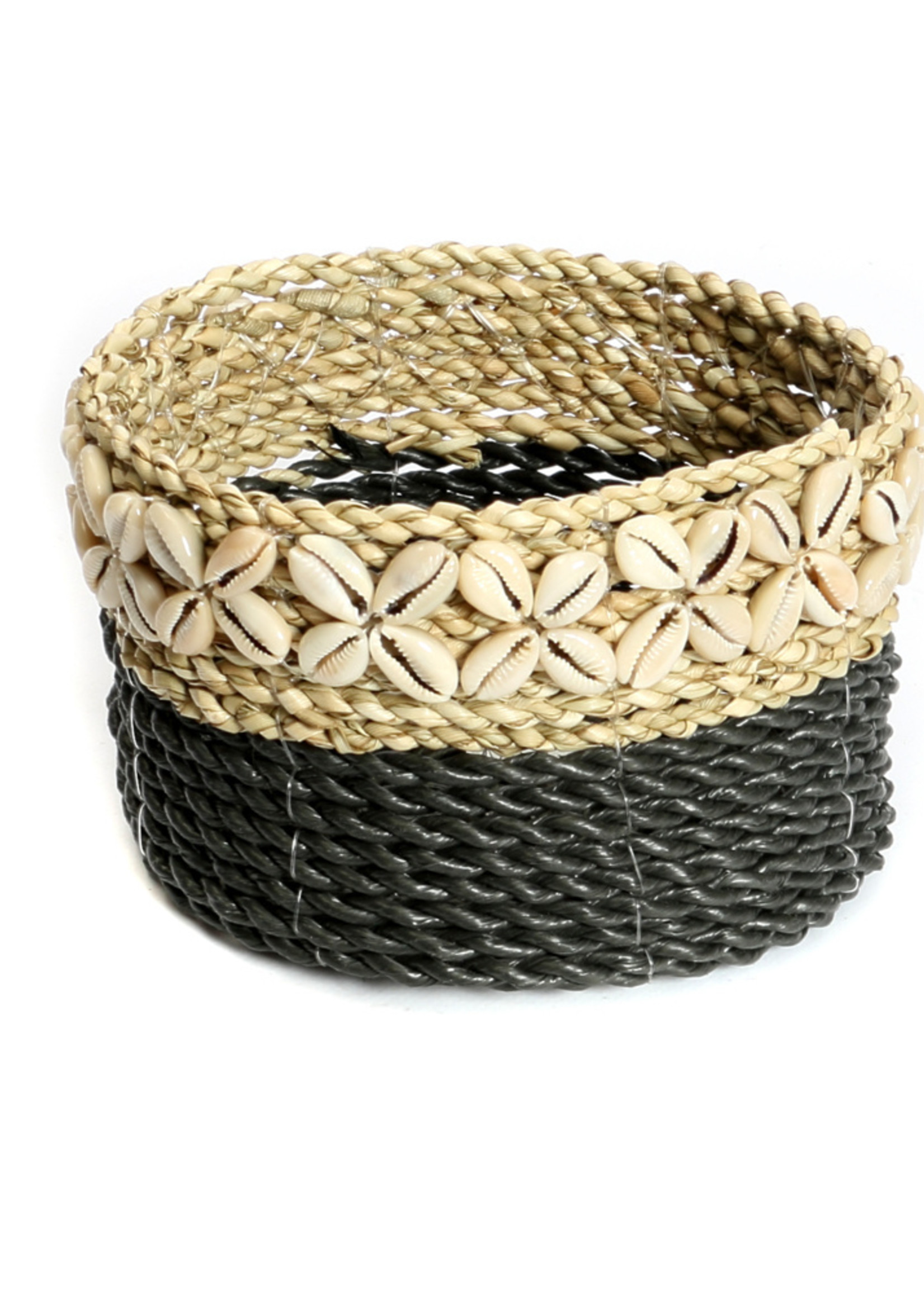 The White Sunday Baskets - Black Natural - S