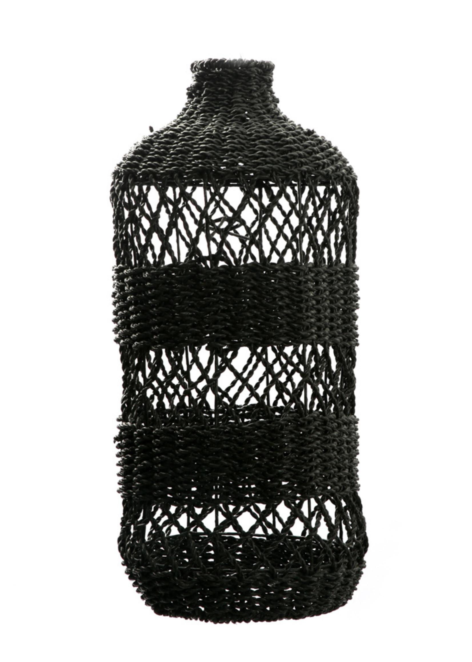 The Lantern Pendant - Black