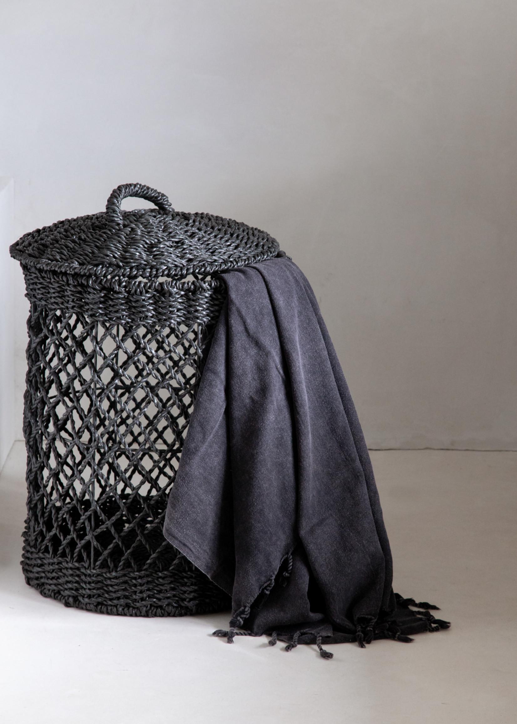 The Laundry Basket - Black - L