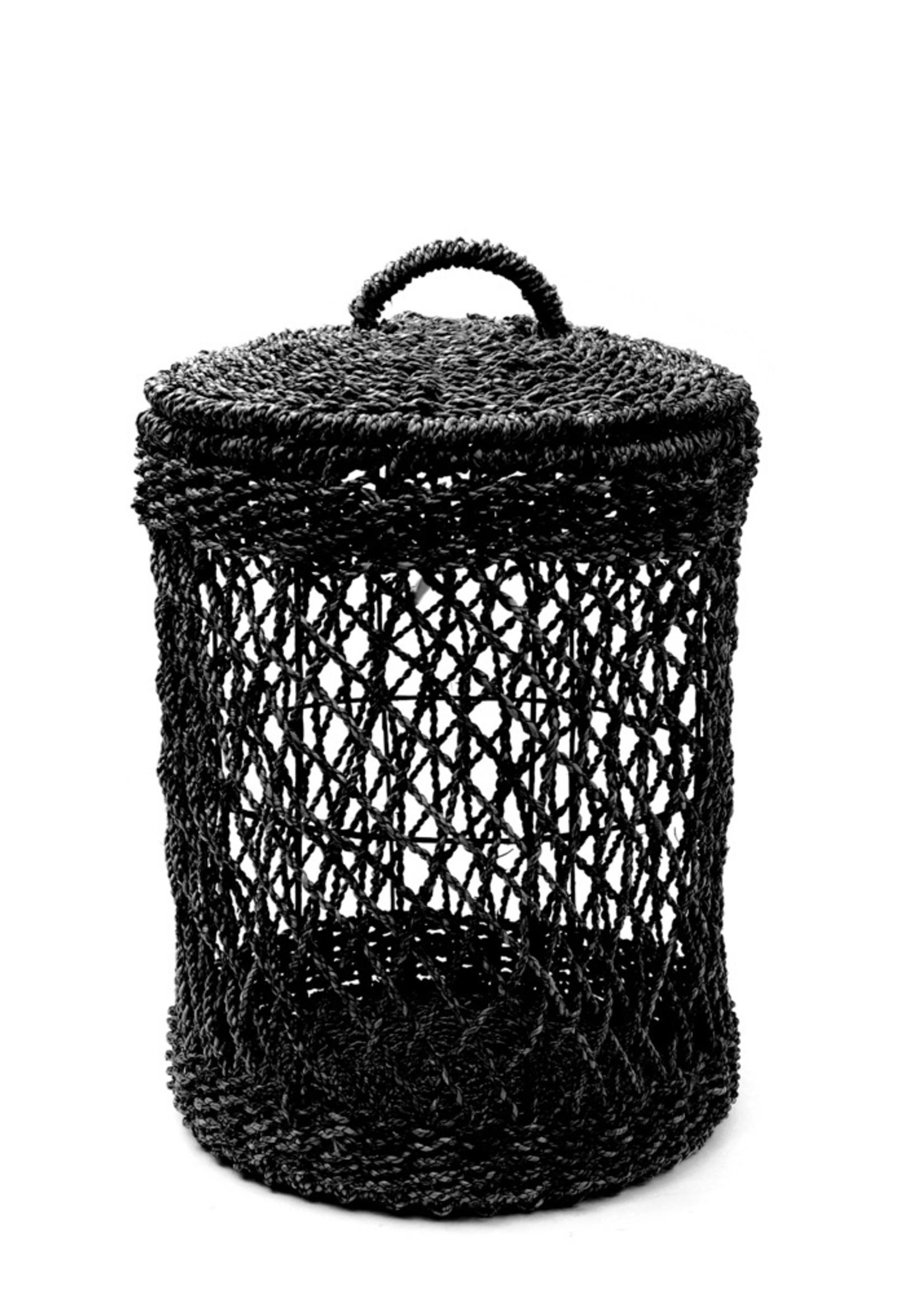 The Laundry Basket - Black - M