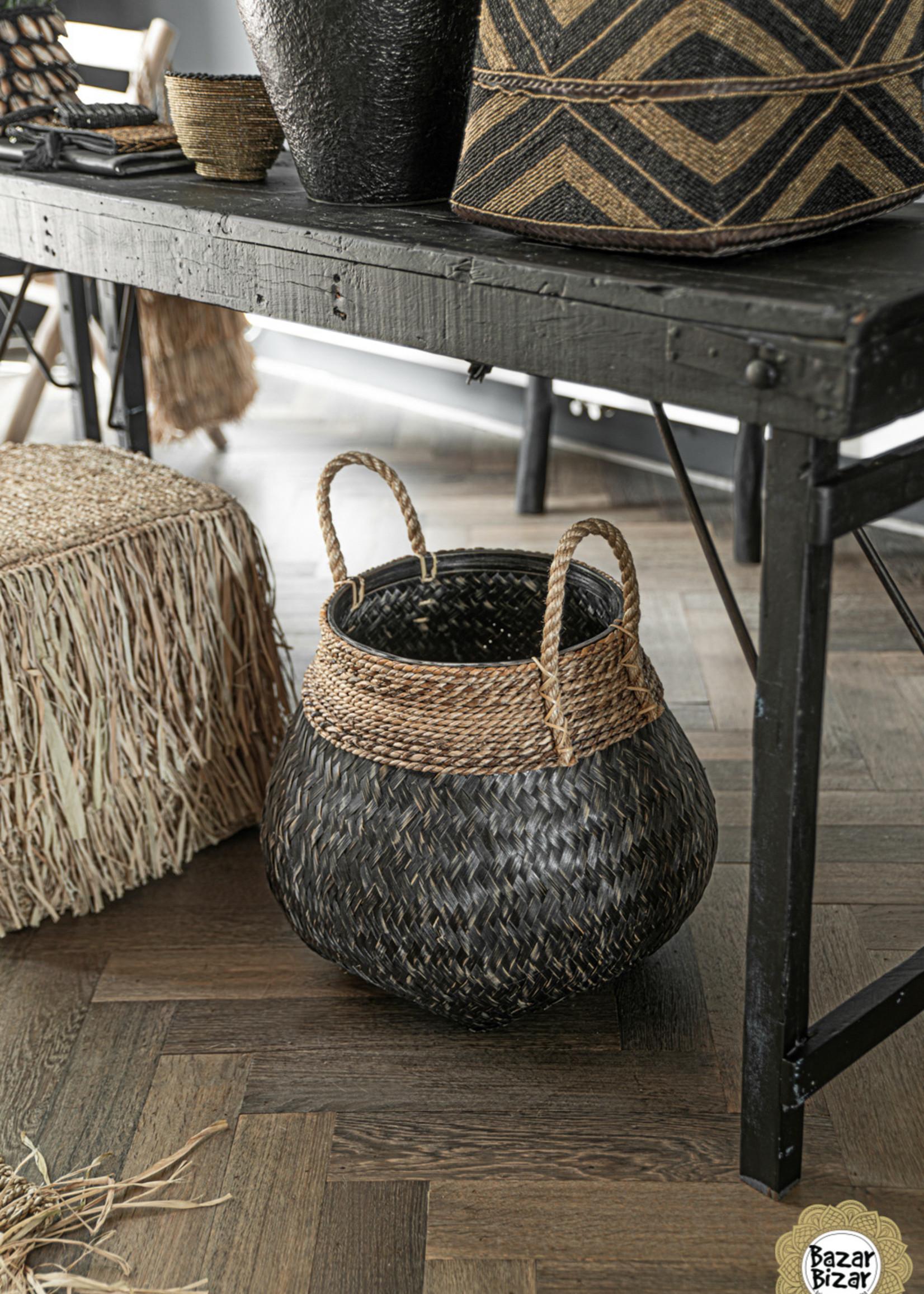 The Belly Basket - Natural Black - L