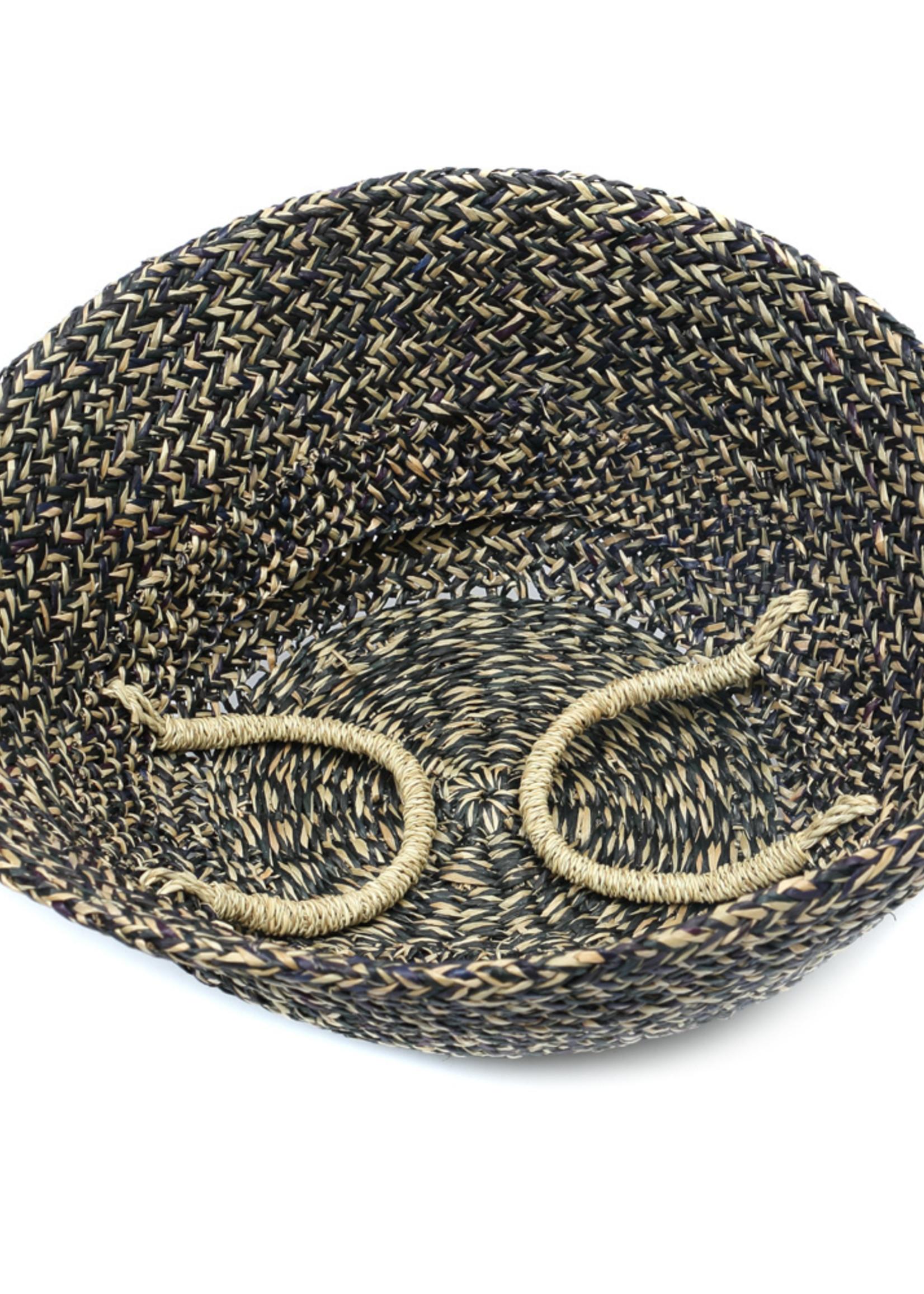 The Hola Basket - Black Natural