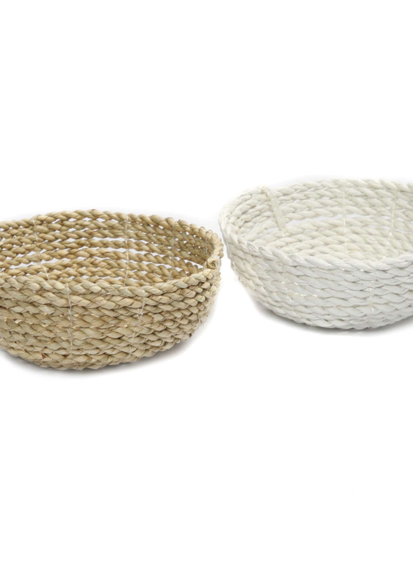 The Seagrass Bowl - White - S