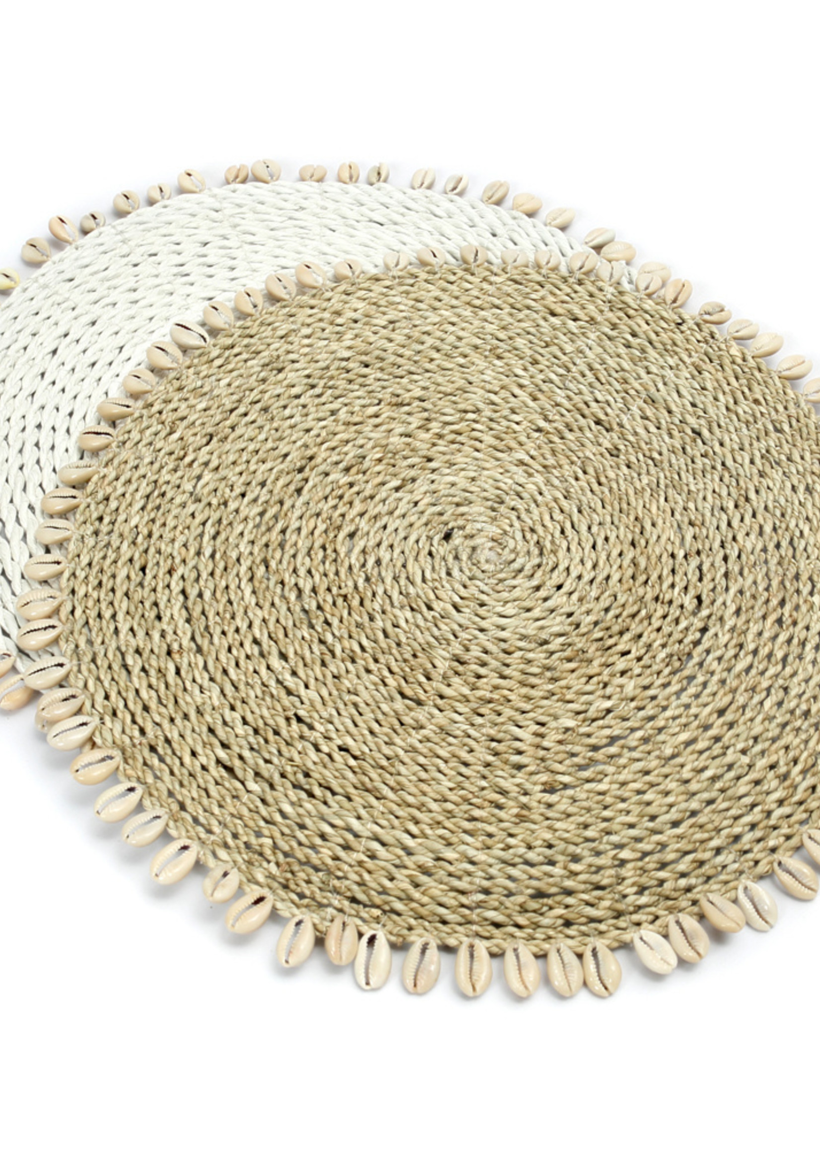 The Seagrass Shell Placemat - Natural