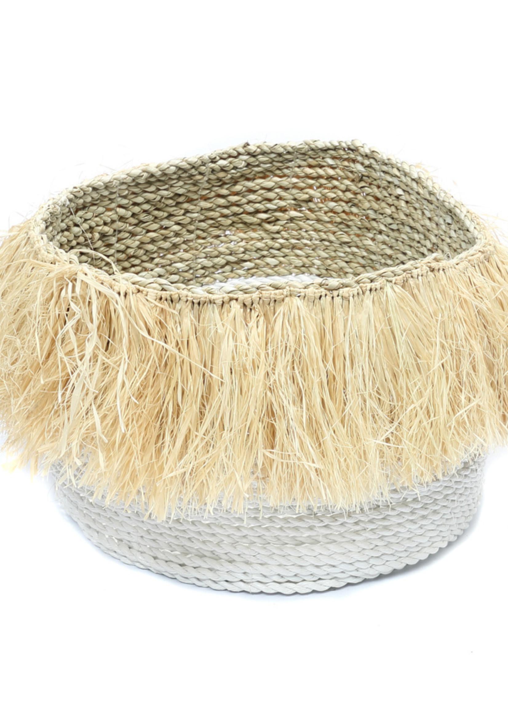 The Aloha Baskets - White Natural - L