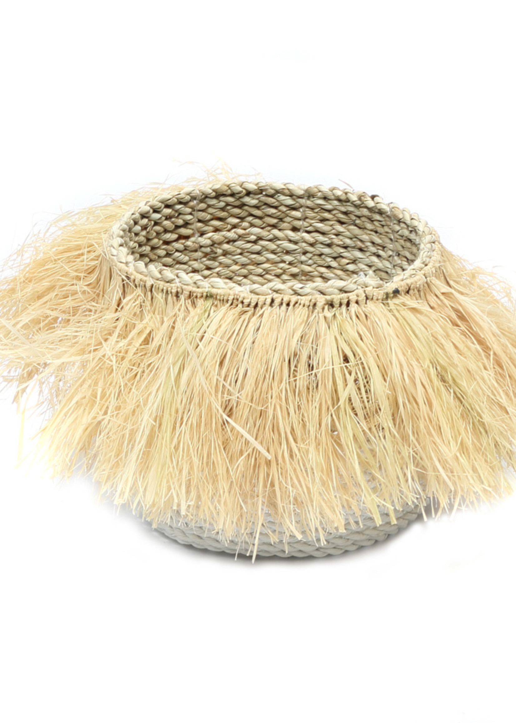 The Aloha Baskets - White Natural - M