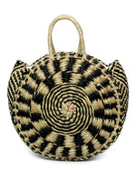The Seagrass Pied Roundi Bag