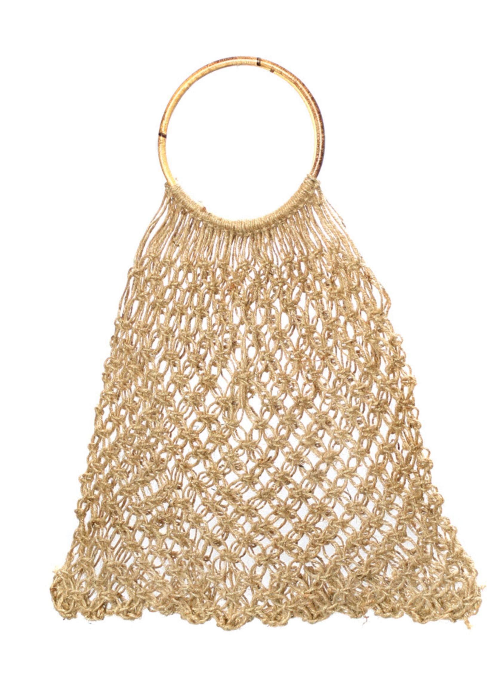 The Jute Crochet Shopper - Natural
