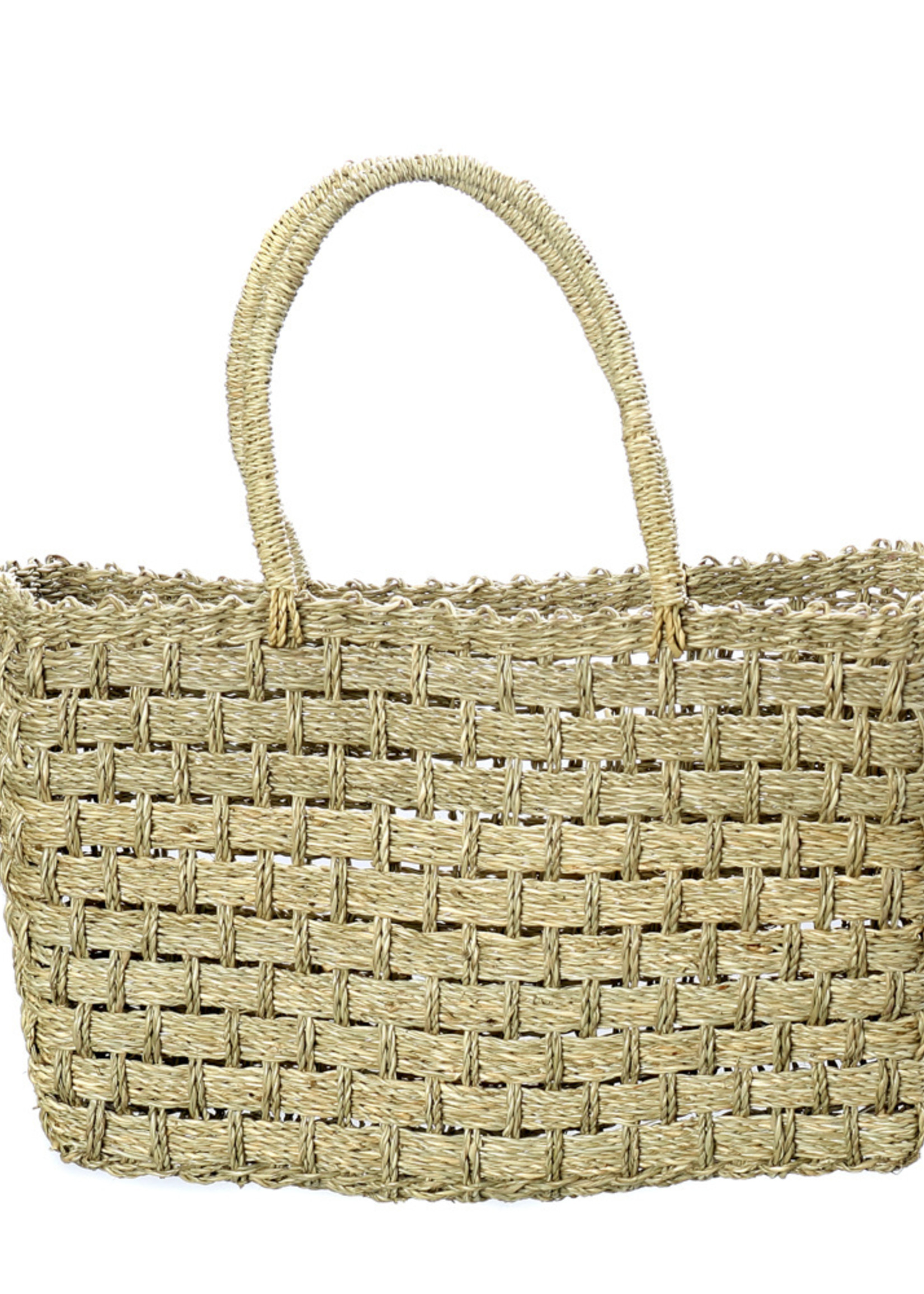 The Seagrass Market Basket - Natural - S